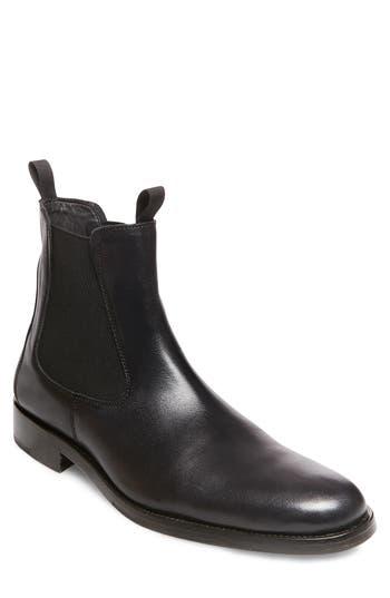 Steve Madden X Gq Nick Chelsea Boot, Black