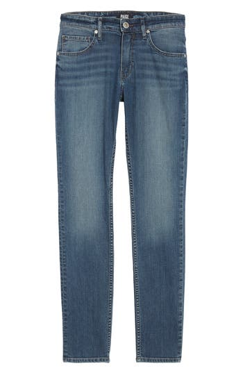Paige Legacy - Croft Skinny Jeans, Blue
