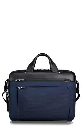 Tumi Arrive Hamilton Briefcase - Blue