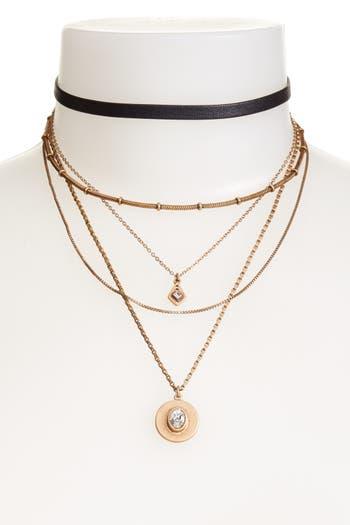 Women's Treasure & Bond Multstrand Choker Necklace