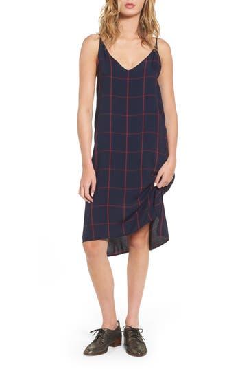 Women's Rails Alec Plaid Slipdress, Size Small - Blue