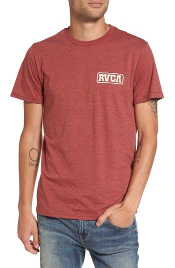 Rvca Suzuki Sign Graphic T-Shirt, Red
