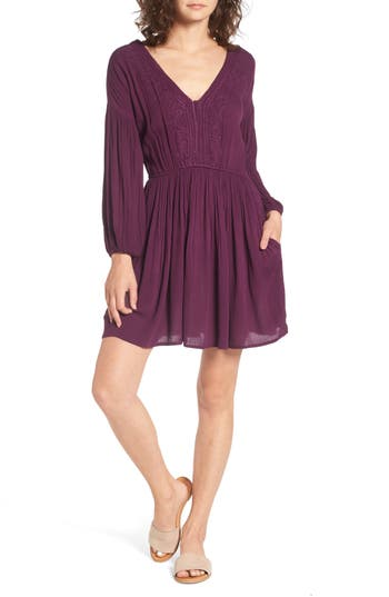 Women's Volcom Champain Trail Dress, Size X-Small - Purple