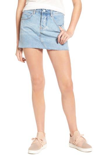 Sincerely Jules Denim Miniskirt, Blue