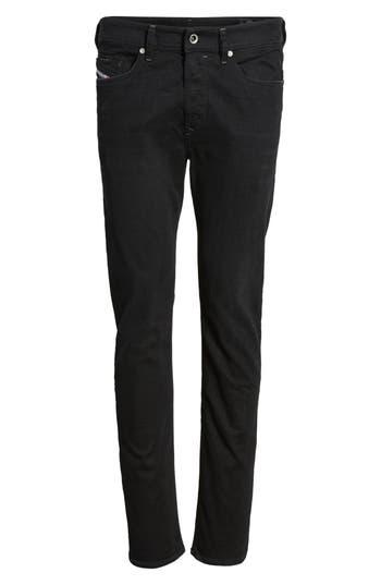 Diesel Buster Slim Straight Fit Jeans, Black