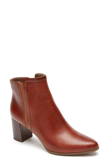 Rockport Lynix Luxe Bootie, Brown