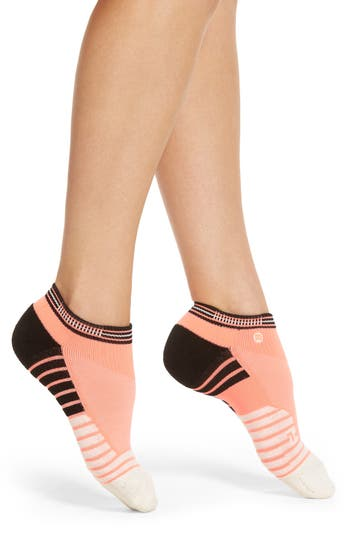 Women's Stance Goals Low Cut Training Socks, Size Medium - Coral