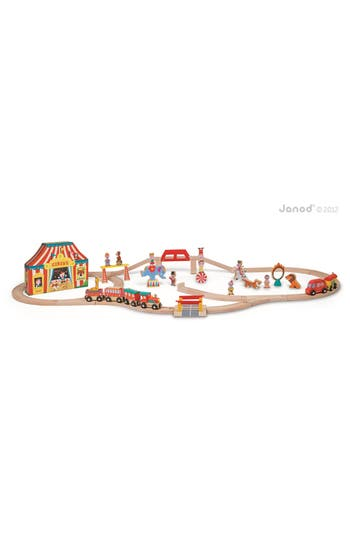 Janod Story Express  Circus Train Set