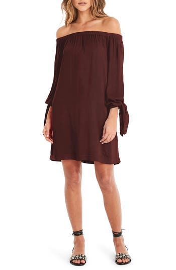 Michael Stars Tie Sleeve Shift Dress