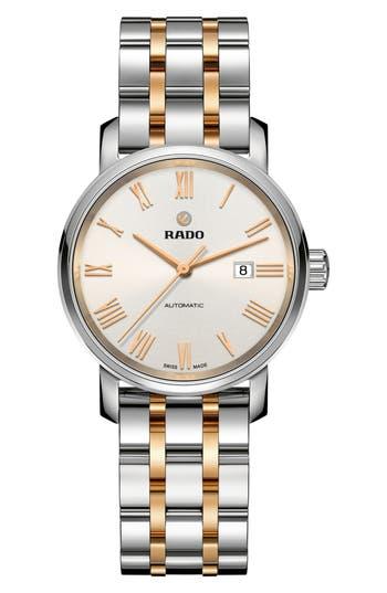 Rado Diamaster Automatic Bracelet Watch, 33Mm