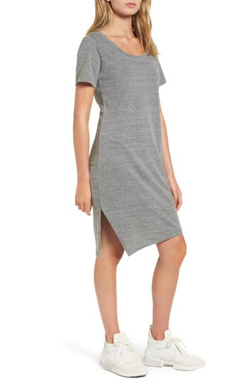 Socialite T-Shirt Dress, Grey