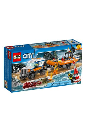 Boys Lego City 4 X 4 Response Unit  60165