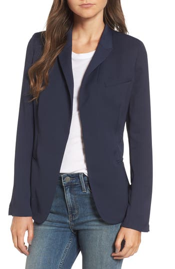 Women's Treasure & Bond Draped Jacquard Blazer
