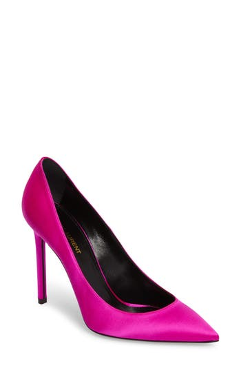 Saint Laurent Anja Pump, Pink