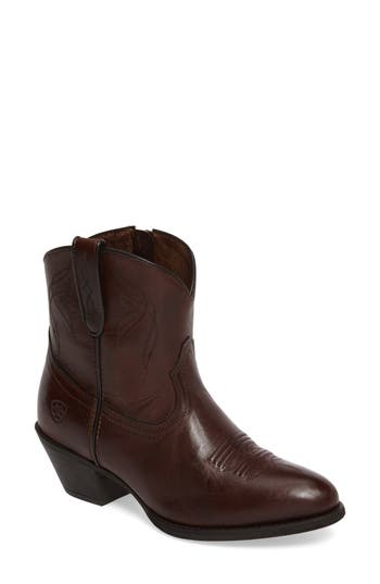 Ariat Darlin Short Western Boot, Brown