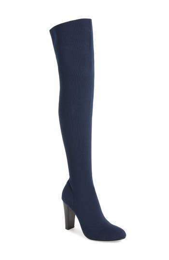 Charles By Charles David Simone Over The Knee Boot, Blue
