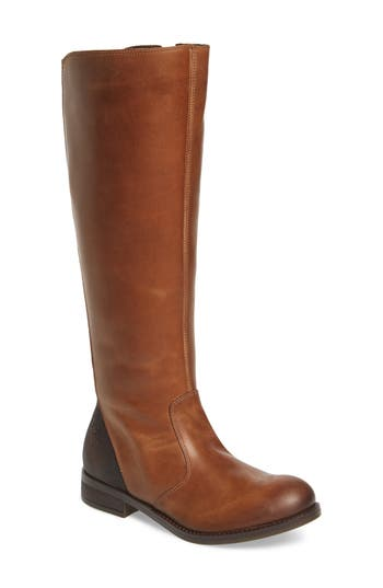 Fly London Axil Elastic Back Riding Boot - Brown