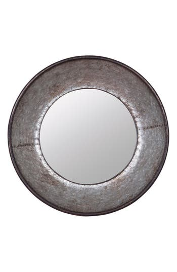 Foreside Frisco Round Mirror, Size One Size - Metallic