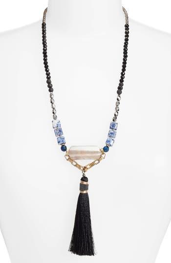 Women's Nakamol Design Long Tassel Necklace
