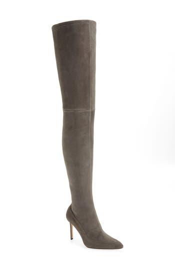 Pour La Victoire Cassie Thigh High Boot- Grey