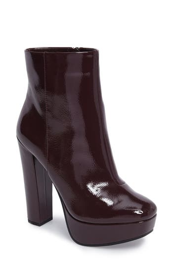 Jessica Simpson Sebille Platform Bootie- Burgundy