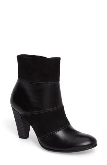 Ecco Shape 75 Pieced Bootie, Black