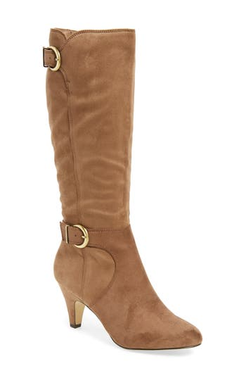 Bella Vita Toni Ii Knee High Boot Regular Calf N - Beige