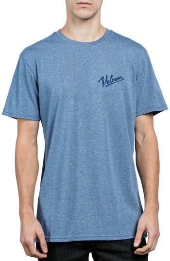 Volcom Kurrent Logo Graphic T-Shirt, Blue
