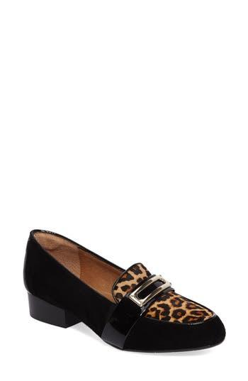 Sofft Brandis Genuine Calf Hair Loafer, Black