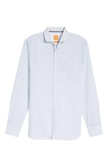 Boss Orange Cattitude Print Shirt, White