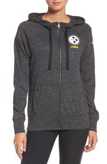 Nike Nfl Zip Hoodie, Grey