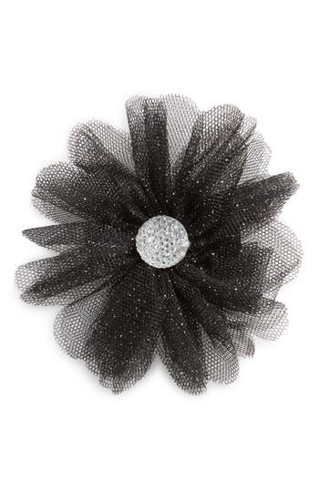 Plh Bows  Laces Glitter Flower Hair Clip