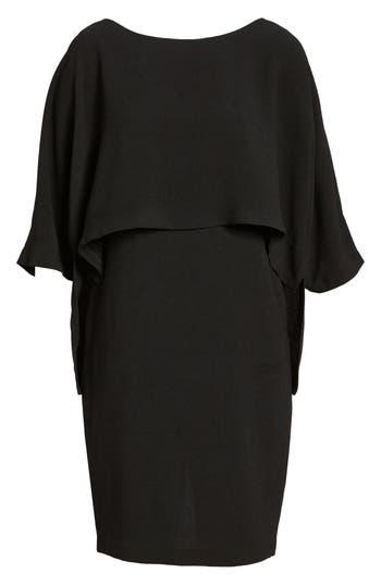 Adrianna Papell Draped Blouson Sheath Dress