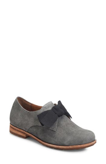 Women's Kork-Ease Beryl Bow Flat, Size 6 M - Grey