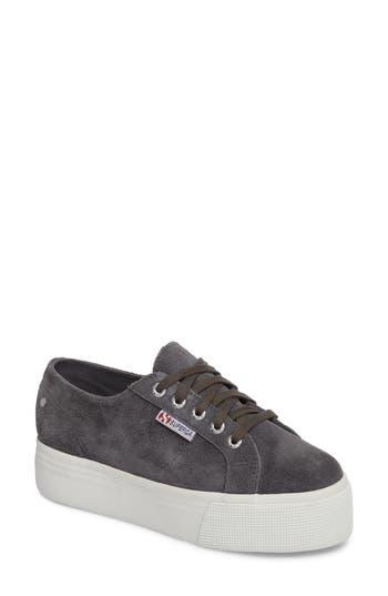 Superga 2790 Platform Sneaker, Grey
