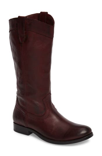 Frye Melissa Pull-On Boot, Burgundy