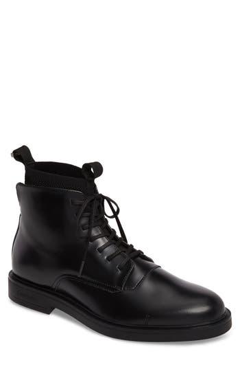 Calvin Klein Devlin Plain Toe Boot, Black