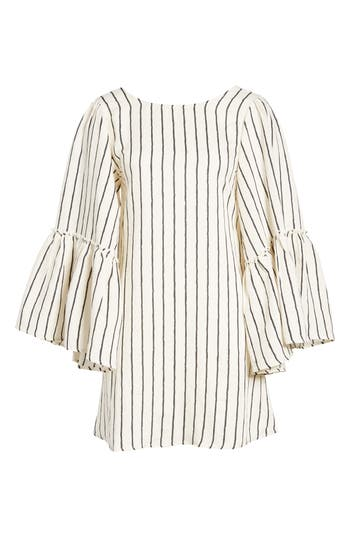Love Like Summer X Billabong Woven Minidress, Ivory