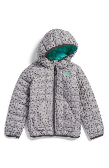 5b4a191f92a9 190849760798. Toddler Girl s The North Face Thermoball(TM) Primaloft Hooded  Jacket