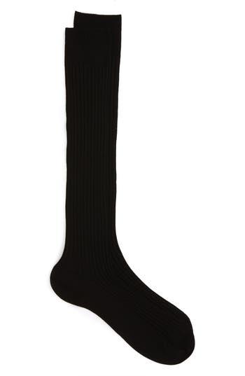 Pantherella Cotton Lisle Blend Over the Calf Socks