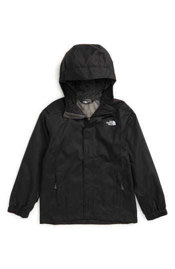 Boys The North Face Resolve Waterproof Jacket Size L  1416  Black