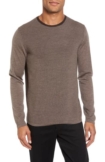 Zachary Prell Huxley Merino Sweater, Brown
