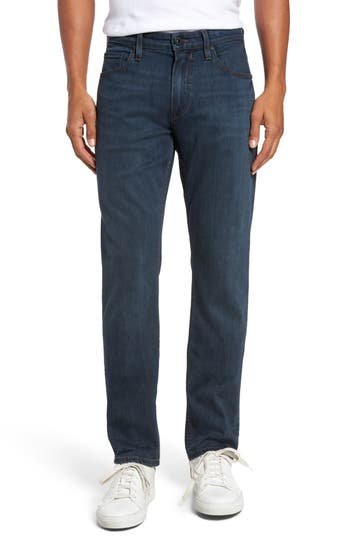 Paige Federal Slim Straight Fit Jeans, Blue