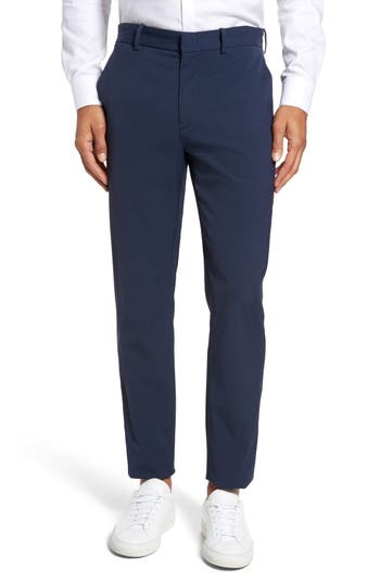 Theory Peterson Neoteric Tech Chino Pants, Blue