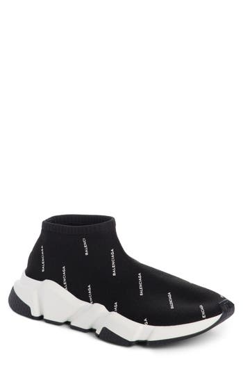 Balenciaga Low Speed Sneaker, Black