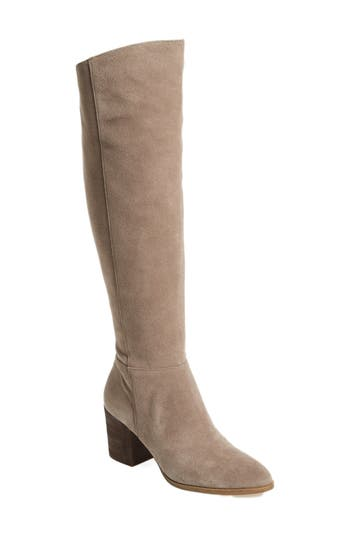 Caslon Mason Knee High Boot, Beige