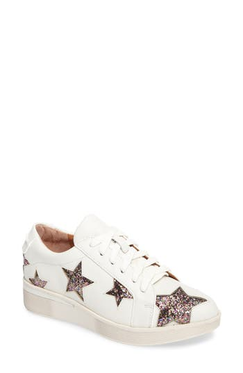 Gentle Souls Haddie Star Sneaker, White