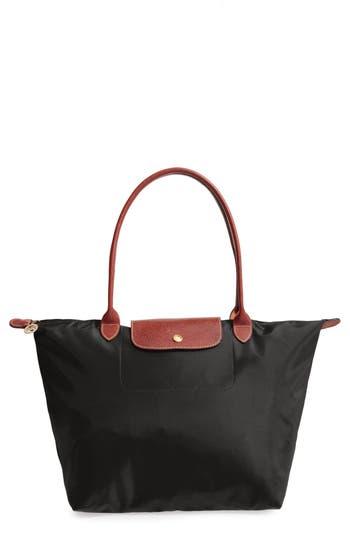 Longchamp 'Large Le Pliage' Tote - Black