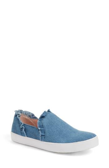 Women's Kate Spade New York Lilly Ruffle Slip-On Sneaker, Size 5 M - Blue