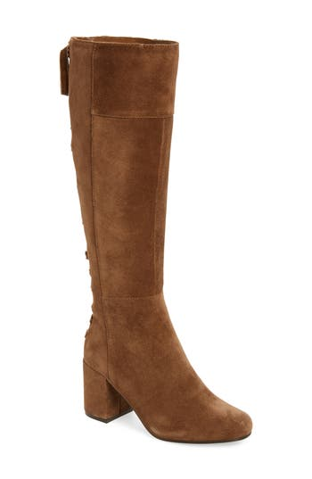 Very Volatile Wynter Lace Up Knee High Boot, Brown